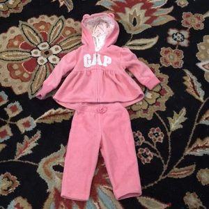 Baby gap sweat pants and matching jacket